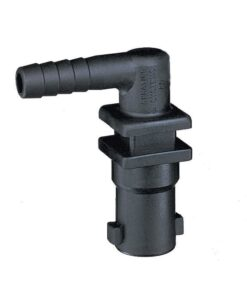 "TeeJet 18635-111-406-NYB | QJ100 Series 3/8"" Single Hose Barb Quick TeeJet Nozzle Body"