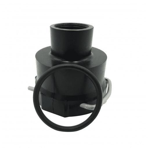"TeeJet B58456-3/4 | Large Quick Connect x 3/4"" BSPT F KIT"