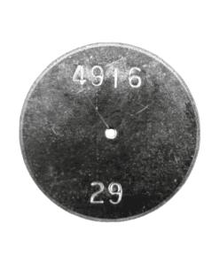 TeeJet CP4916-29 | Stainless Steel TeeJet Orifice Plate