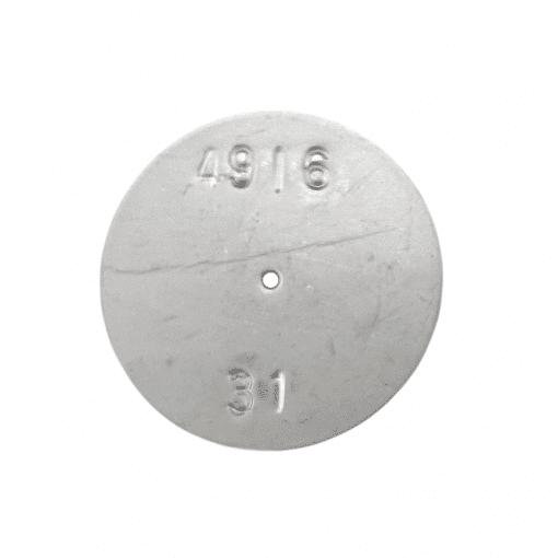 TeeJet CP4916-31 | Stainless Steel TeeJet Orifice Plate