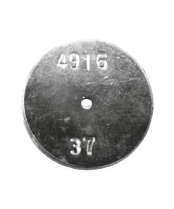 TeeJet CP4916-37 | Stainless Steel TeeJet Orifice Plate