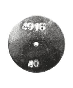 TeeJet CP4916-40 | Stainless Steel TeeJet Orifice Plate