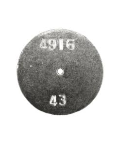 TeeJet CP4916-43 | Stainless Steel TeeJet Orifice Plate