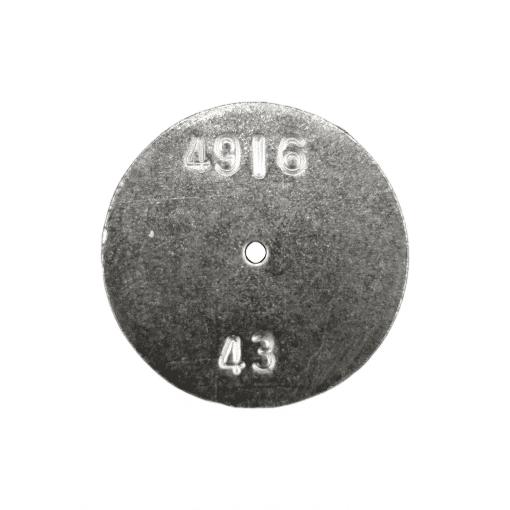 TeeJet CP4916-43   Stainless Steel TeeJet Orifice Plate