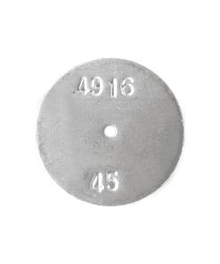 TeeJet CP4916-45 | Stainless Steel TeeJet Orifice Plate