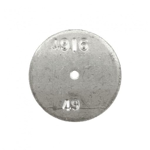 TeeJet CP4916-49 | Stainless Steel TeeJet Orifice Plate