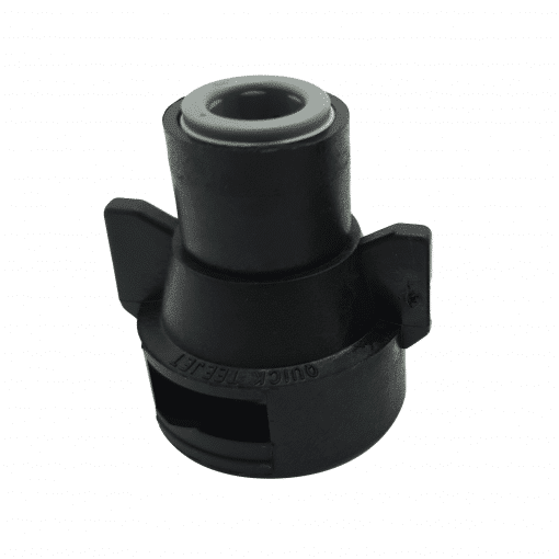 "TeeJet QJ98588-1/4 | 1/4"" Push-to-Connect Straight Cap"