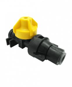 "TeeJet QJ98594-3/8-2 | 3/8"" Push-to-Connect Straight Cap & Body"