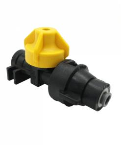 "TeeJet QJ98595-1/4-2 | 1/4"" Push-to-Connect Straight Cap & Body"