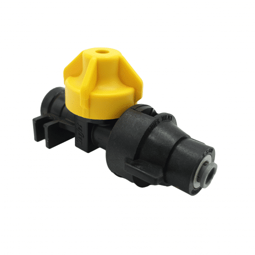 "TeeJet QJ98595-1/4-2 | 1/4"" Push-to-Connect Straight Cap & Body"