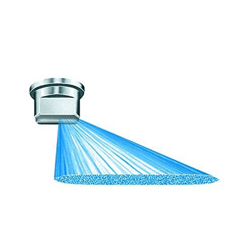 TeeJet Off-Center Spray Tip Diagram