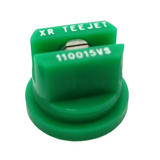XR FLAT SPRAY TIP - STAINLESS STEEL - 110 DEG - 015 - GREEN