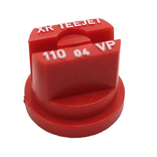 XR FLAT SPRAY TIP - POLY - 110 DEG - 03 - RED