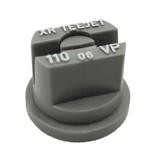 XR FLAT SPRAY TIP - POLY - 110 DEG - 06 - GREY