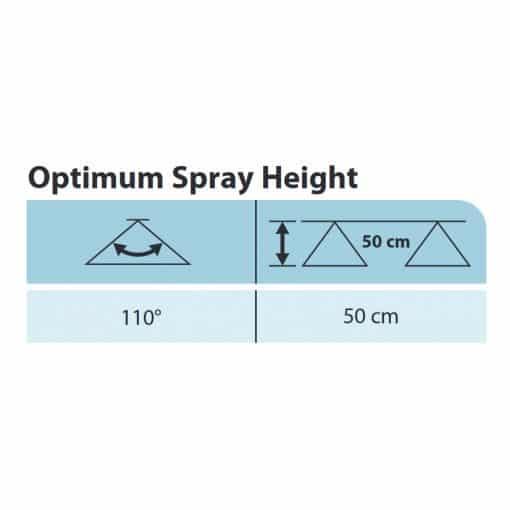 AIC TeeJet Air Induction Flat Spray Tip Optimum Spray Height