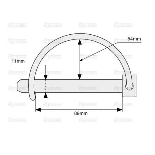 Sparex S.272 Dimensions
