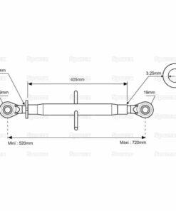 Sparex S.312 - Dimensions