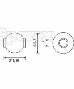 Sparex S.33004 - Dimensions 2