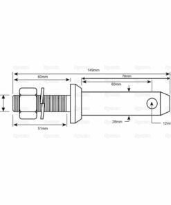 Sparex S.5191 Dimensions
