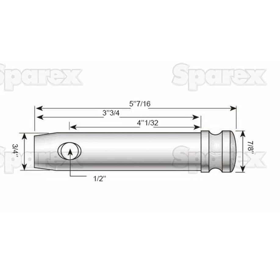 Sparex S.74 Dimensions 2