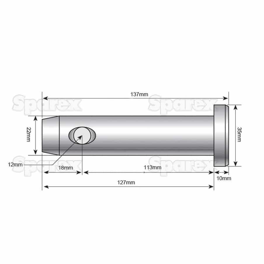 Sparex S.9161 Dimensions