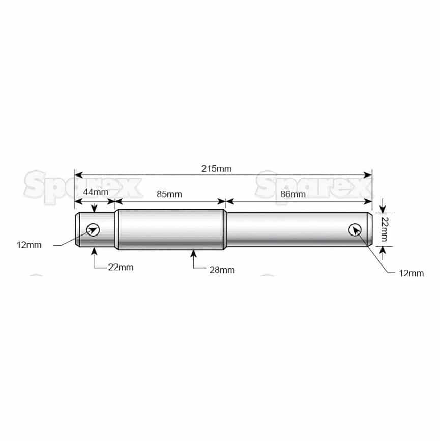 Sparex S.964 Dimensions