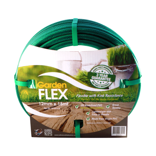 12mm x 18m Gardenflex Garden Hose Unfitted