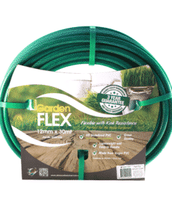 12mm x 30m Gardenflex Garden Hose Fitted