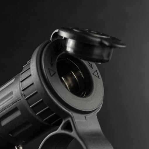 12v Cigarette Lighter Socket Handlebar Mount Closeup 2