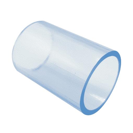 20mm Powaflex Clear Vinyl Tubing