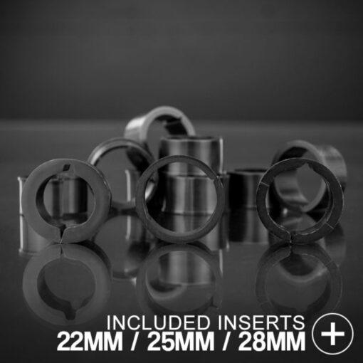 22mm 25mm 28mm 30mm VICE Bull Bar Tube Clamps Closeup 4