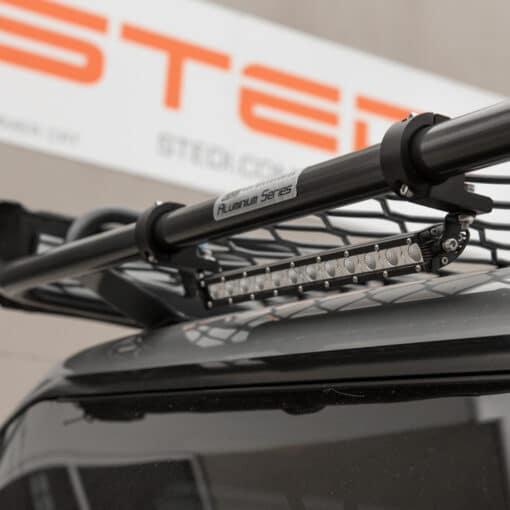 35mm LED Light Mounting Brackets for ATV Roof Rack Close Up 5