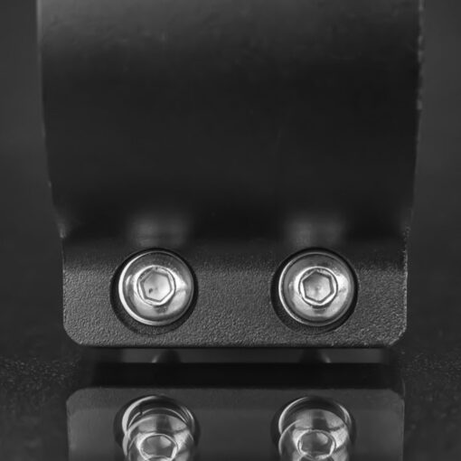 40mm to 45mm Tube Clamp Bull Bar Mounting Brackets Black Closeup 7