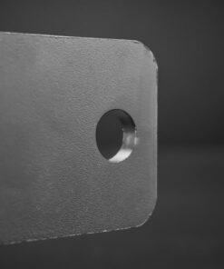 60mm to 65mm Tube Clamp Bull Bar Mounting Brackets Black Closeup 6