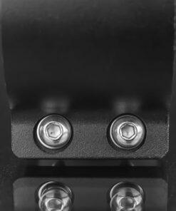 60mm to 65mm Tube Clamp Bull Bar Mounting Brackets Black Closeup 7