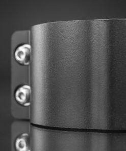 60mm to 65mm Tube Clamp Bull Bar Mounting Brackets Black Closeup 8