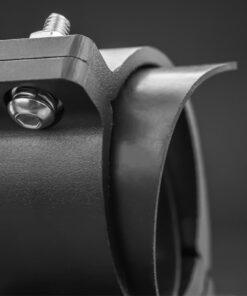 76mm to 81mm Tube Clamp Bull Bar Mounting Brackets Black Closeup 4