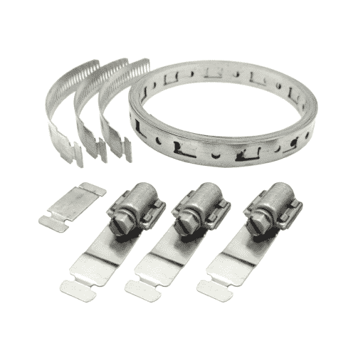 """Breeze® Make-A-Clamp Kit #4000 3"""" to 2 1/2'"""