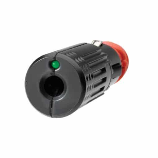 Narva Combination Cigarette Lighter Accessory Plug 82110BL Back