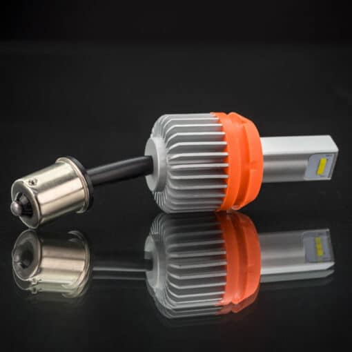 STEDI 1,000 Lumen BA15S 1156 S25 P21W P21W 7507 Reverse LED Closeup 2