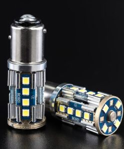 STEDI 2 Pack BA15D 1157 p215w BAY15D 20smd 3030 LED