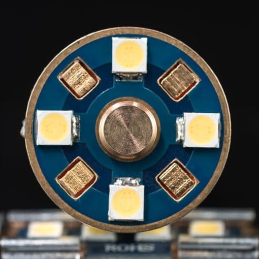 STEDI 2 Pack BA15D 1157 p215w BAY15D 20smd 3030 LED Closeup 2