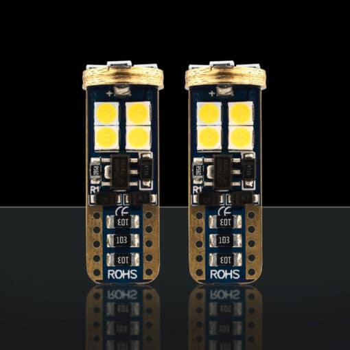 STEDI 2 Pack T10 W5W Wedge LED Light 28mm