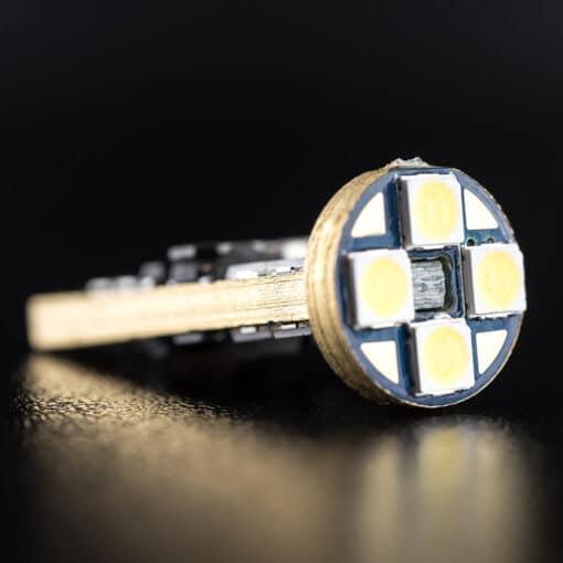 STEDI 2 Pack T10 W5W Wedge LED Light 28mm Closeup 4