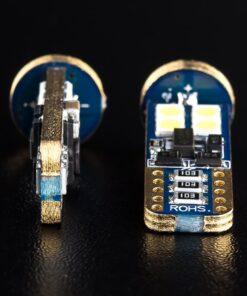 STEDI 2 Pack T10 W5W Wedge LED Light 28mm Closeup 5
