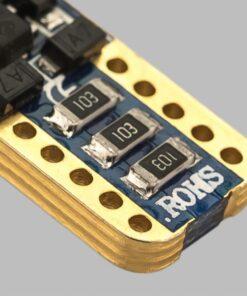 STEDI 2 Pack T10 W5W Wedge LED Light 28mm Closeup 9