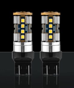 STEDI 2 Pack T20 7443 W215W Wedge LED Light Dual Filament Parker