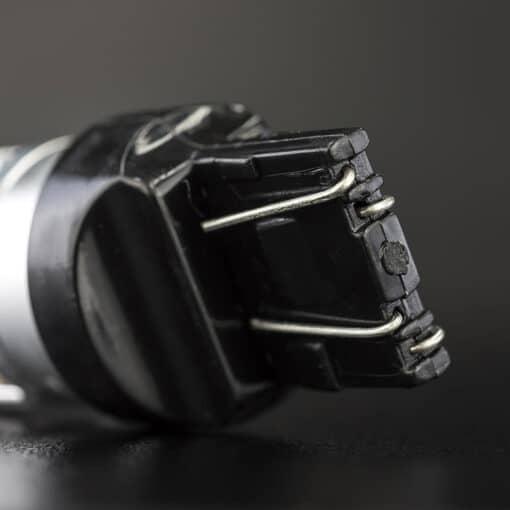 STEDI 2 Pack T20 7443 W215W Wedge LED Light Dual Filament Parker Closeup 5