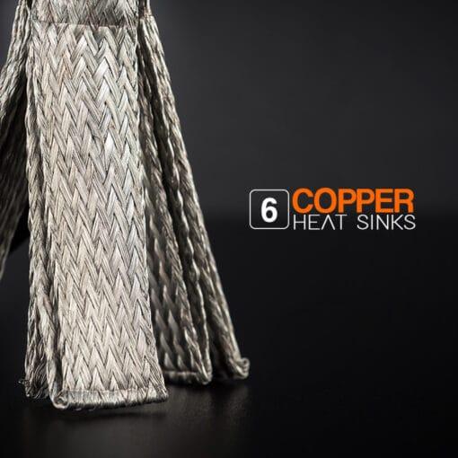 STEDI Copper Head HB3 LED Head Light Conversion Kit Closeup 3