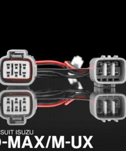 STEDI Isuzu D-Max M-ux (LED models) Piggy Back Adapter
